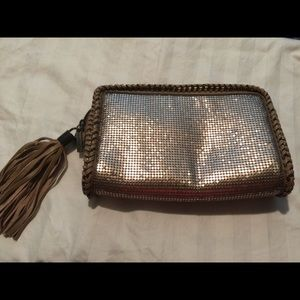 Clutch with tassel